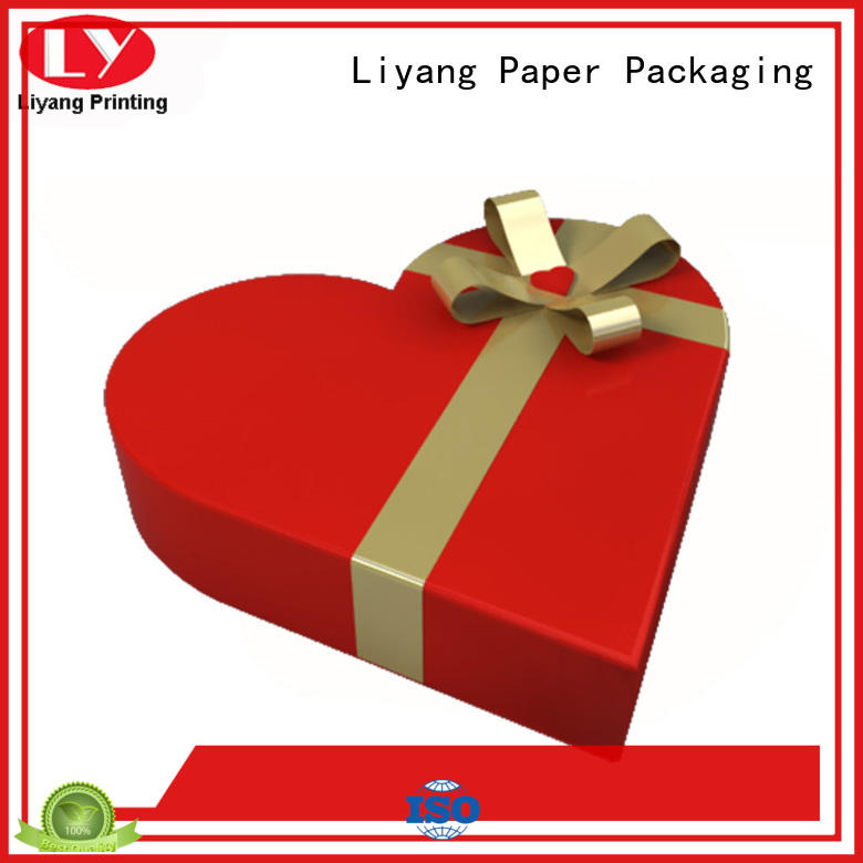 brown special gift box kraft for christmas Liyang Paper Packaging