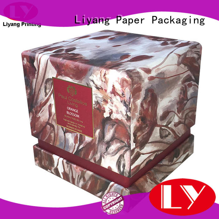 Liyang Paper Packaging unique candle box best service for display