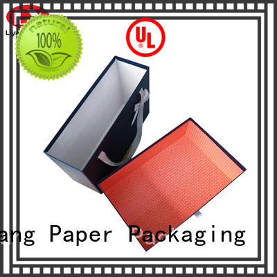 Liyang Paper Packaging Brand closure cardboard paper clothing gift boxes manufacture