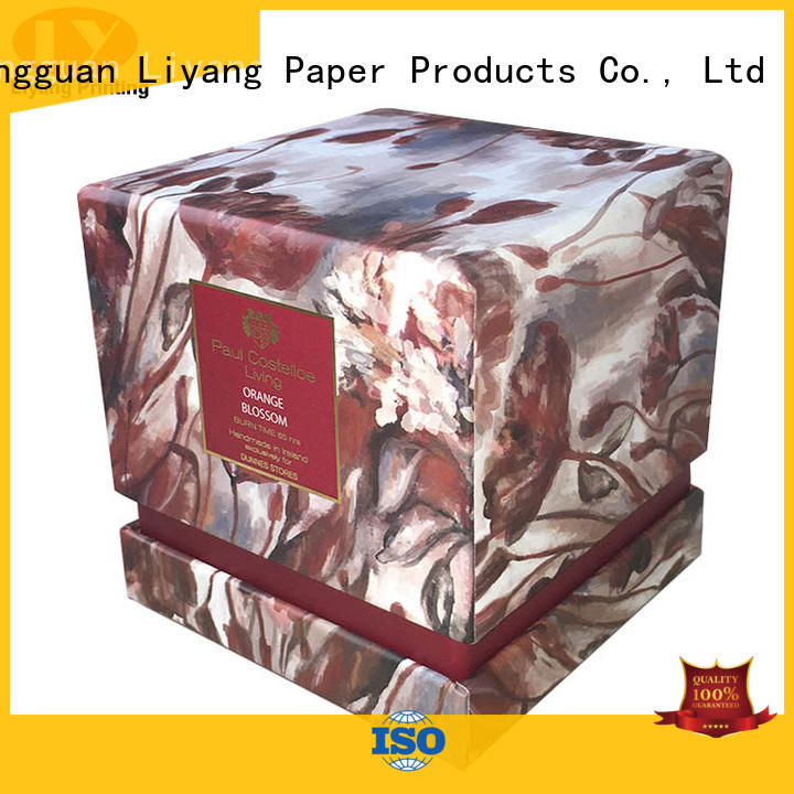 Liyang Paper Packaging unique candle box fast delivery for homes