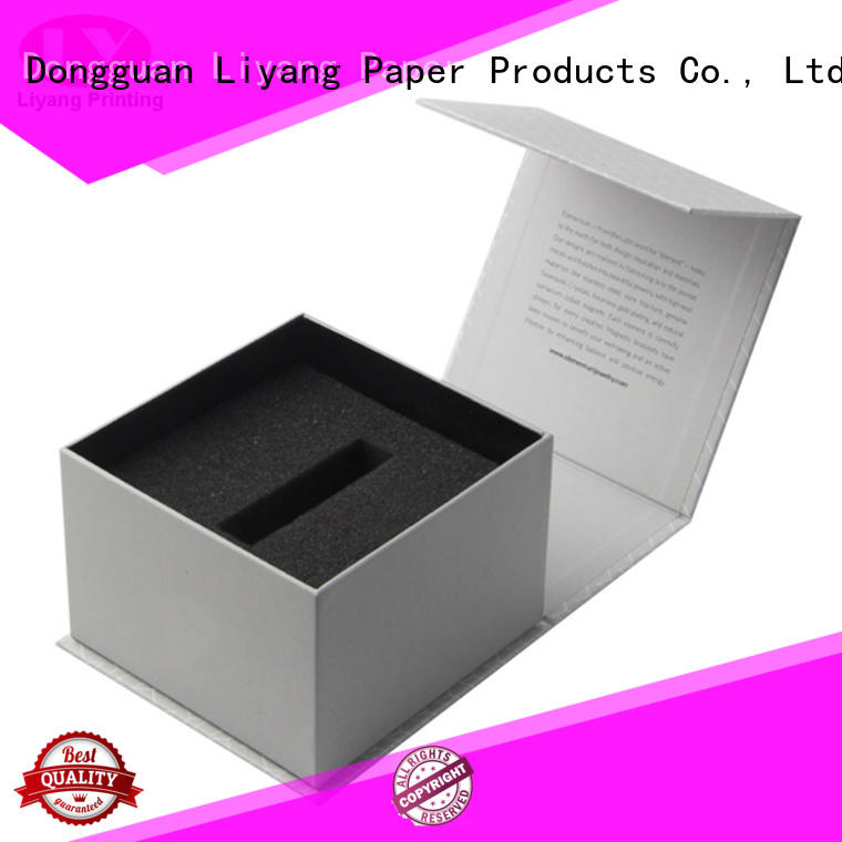 hair pillow purple clear cosmetic gift packaging Liyang Paper Packaging Brand