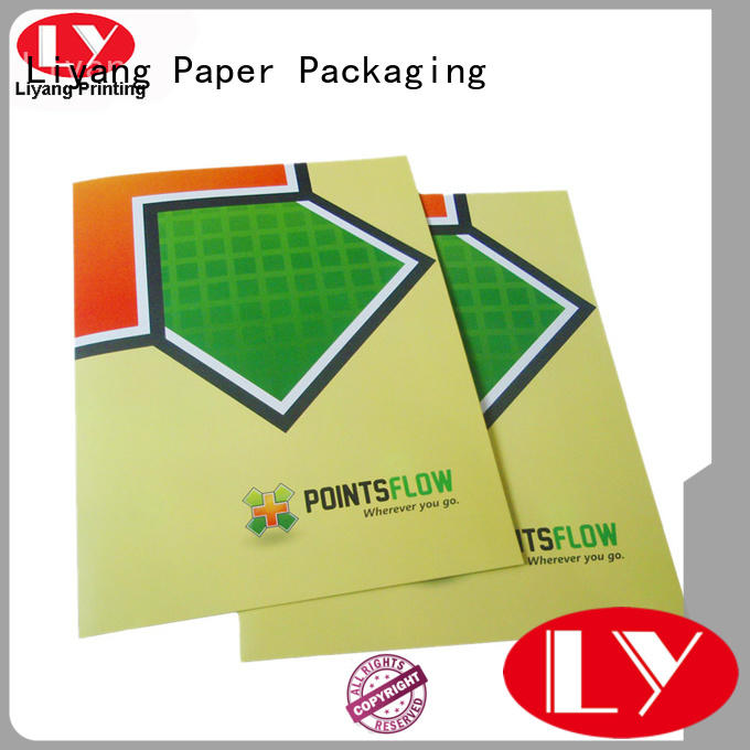 Custom printing presentation folders printing catalog Liyang Paper Packaging