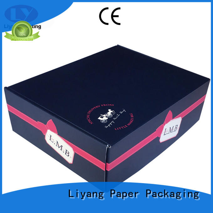 handmade foldable gift boxes bulk production for marble Liyang Paper Packaging