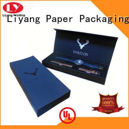 personalized paper jewelry box hinge for ring