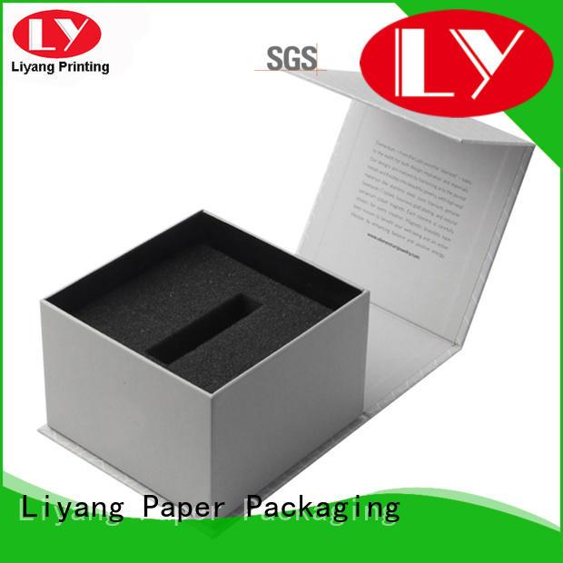 Hot folding cosmetic gift box black hair Liyang Paper Packaging Brand