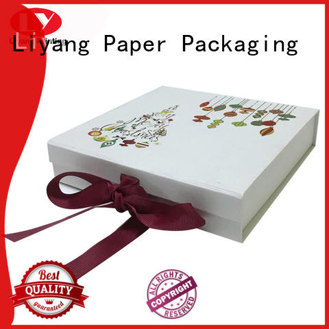 Hot clothing paper box paper Liyang Paper Packaging Brand