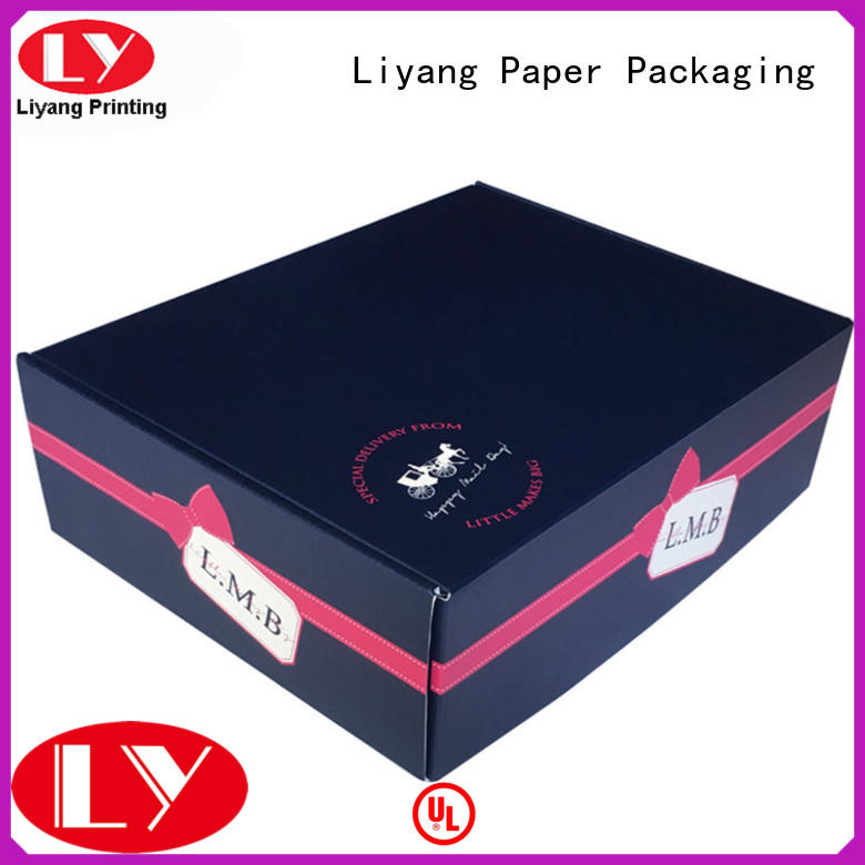paper gift box bow for bakery Liyang Paper Packaging