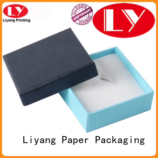 slide jewelry paper box drawer for necklace Liyang Paper Packaging