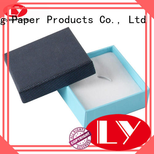 ribbon ring cardboard jewelry boxes paper luxury Liyang Paper Packaging company