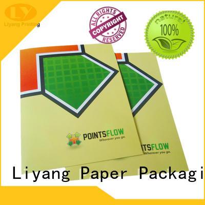 Liyang Paper Packaging logo printed custom business card printing factory price sticker label