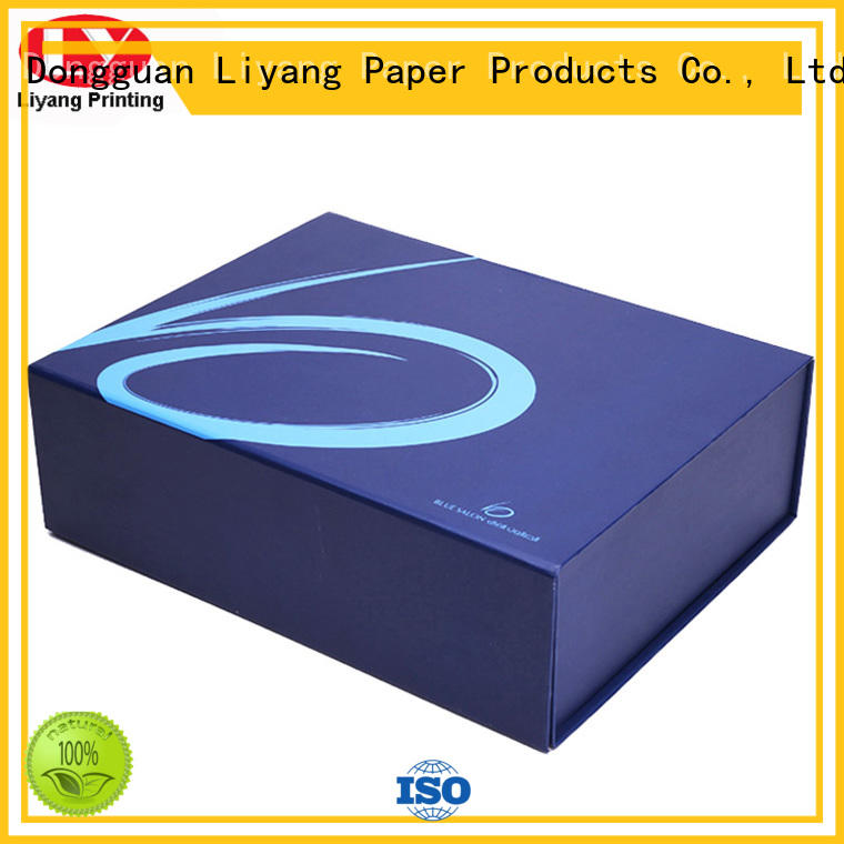 boxes clothing packaging ideas OEM for wedding dress Liyang Paper Packaging
