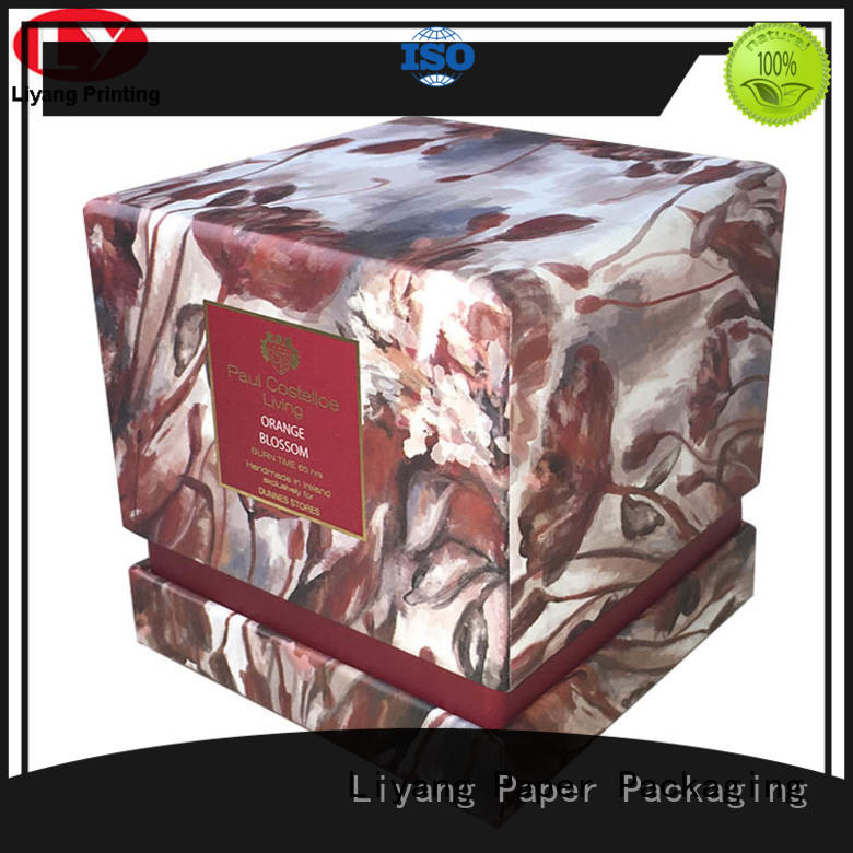 candle gift boxes factory price for display Liyang Paper Packaging