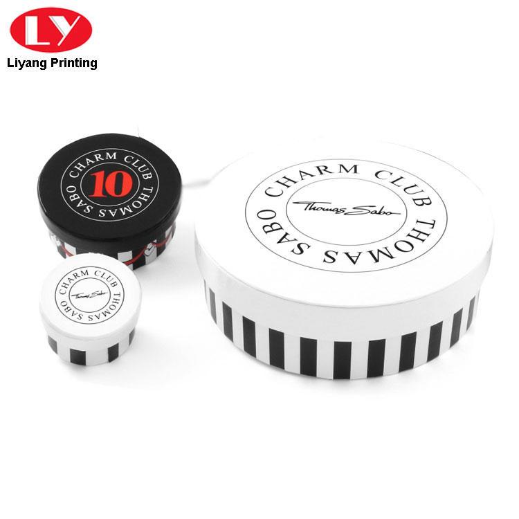 Liyang Paper Packaging custom design round box fast delivery for bracelet-3