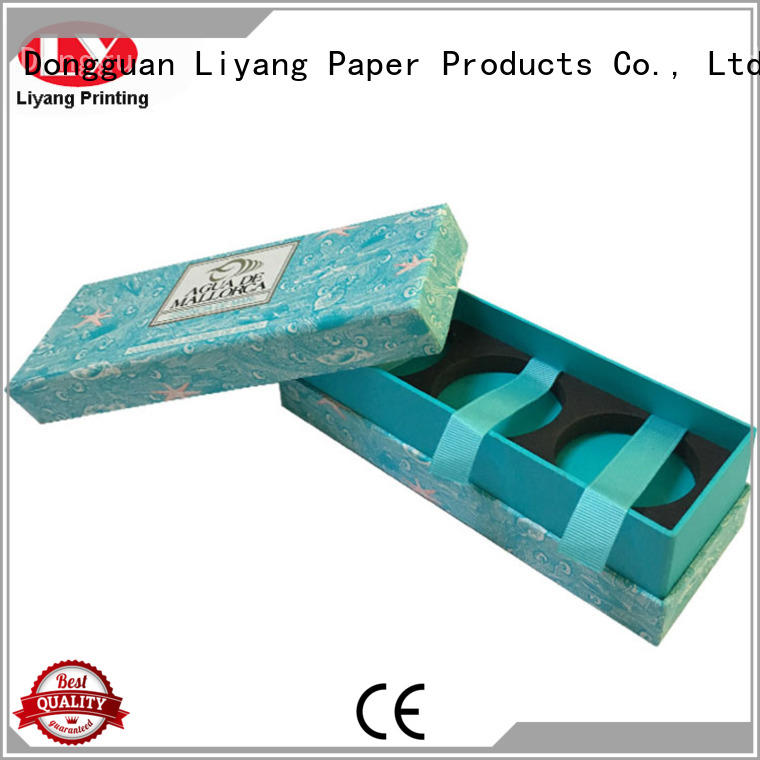 Liyang Paper Packaging flat cardboard gift boxes bulk production for bakery