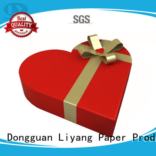 Liyang Paper Packaging made heart triangle shaped box free sample for chocolate
