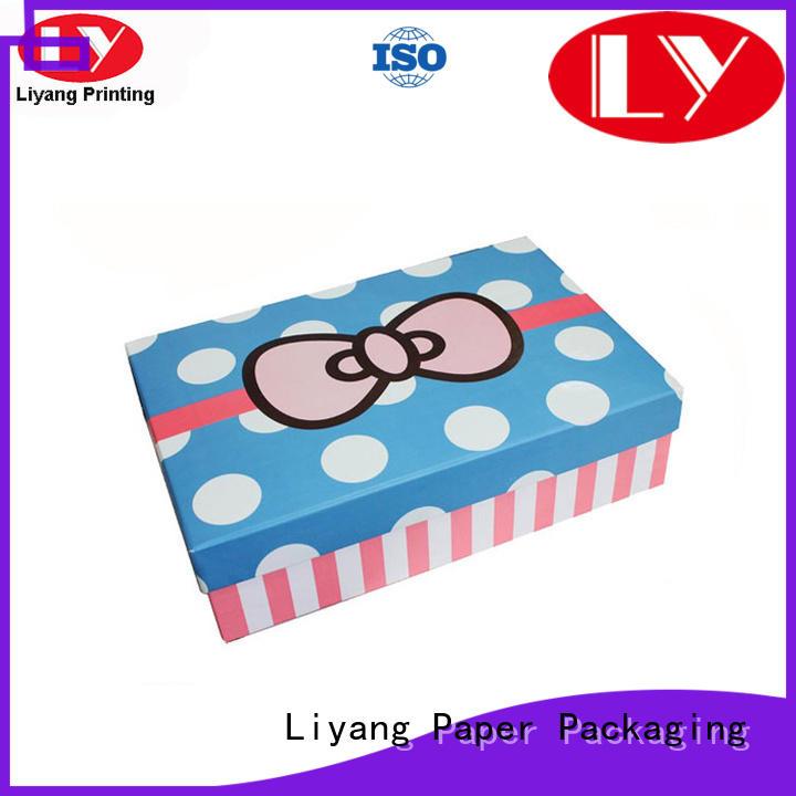 Liyang Paper Packaging logo custom gift boxes for christmas