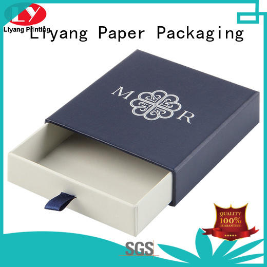 Liyang Paper Packaging personalized custom jewelry packaging ribbon for small bracelet