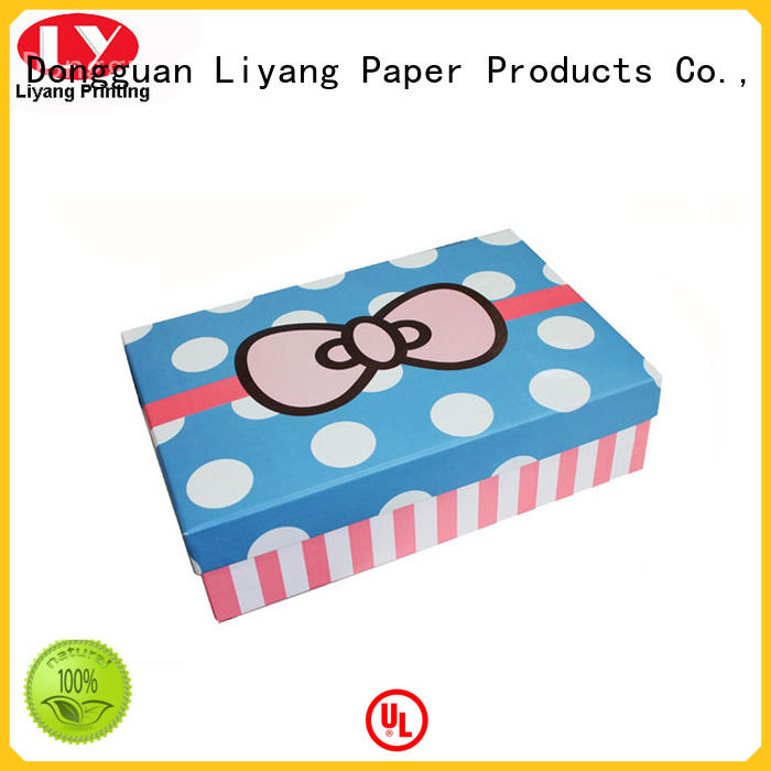 collapsible packaging gift box fast delivery for chocolate Liyang Paper Packaging