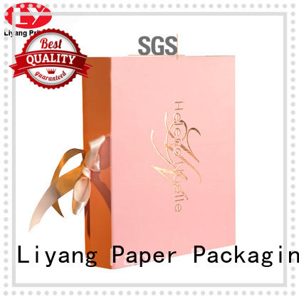 pink cosmetic paper box high quality for nail polish