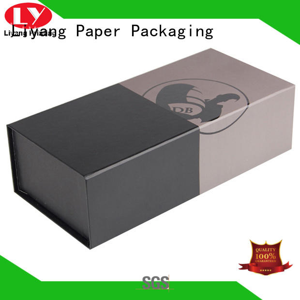 Liyang Paper Packaging luxury wine bottle gift box for wholesale for gift