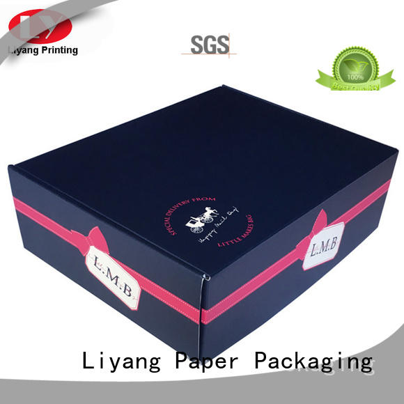 square foldable gift boxes for chocolate Liyang Paper Packaging