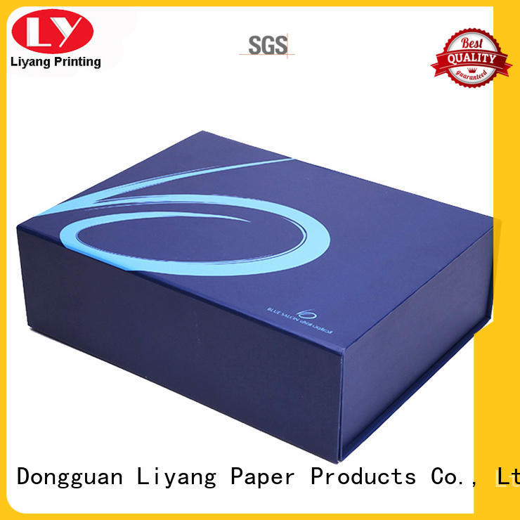 Liyang Paper Packaging Brand closure packaging clothing gift boxes manufacture