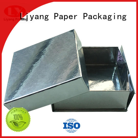 Liyang Paper Packaging printed gift box with lid fashion design for christmas