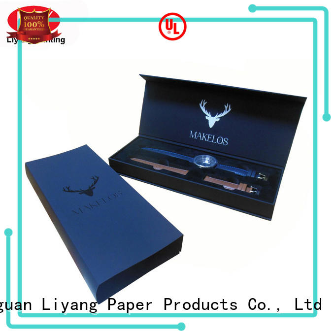 Liyang Paper Packaging cardboard custom jewelry packaging OEM for gift