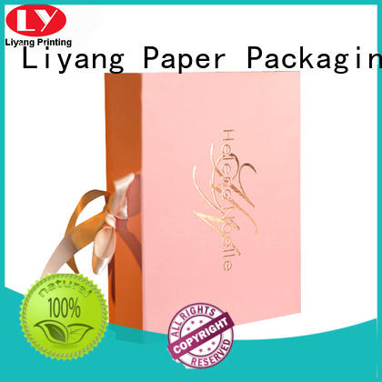 sales cardboard cosmetic box handle for lipstick Liyang Paper Packaging