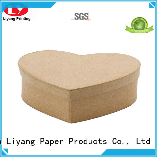 Quality Liyang Paper Packaging Brand special box design heart
