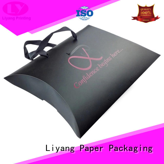 Liyang Paper Packaging ivory custom cosmetic boxes high quality for makeup