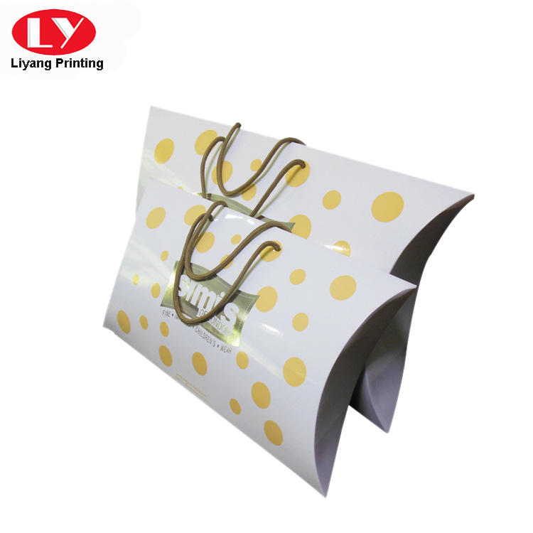 Liyang Paper Packaging folding gift boxes for clothes custom logo for packaging-2