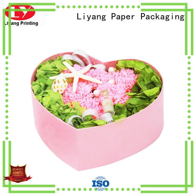 Wholesale flower round flower box twist Liyang Paper Packaging Brand
