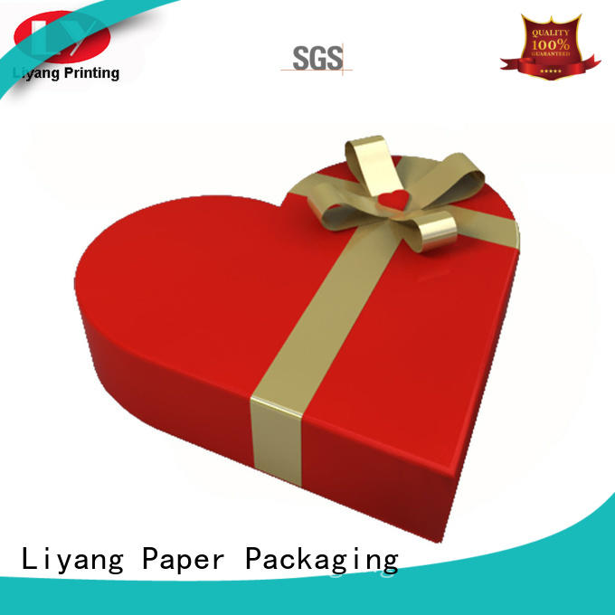 kraft custom shaped boxes print for packaging Liyang Paper Packaging