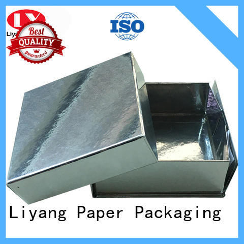 newly square boxes with lids bulk production for soap Liyang Paper Packaging