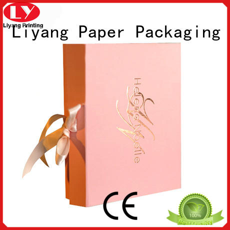Liyang Paper Packaging luxury cosmetic gift packaging pillow for lipstick