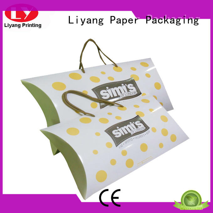 Liyang Paper Packaging navy clothing packaging box baby for gift