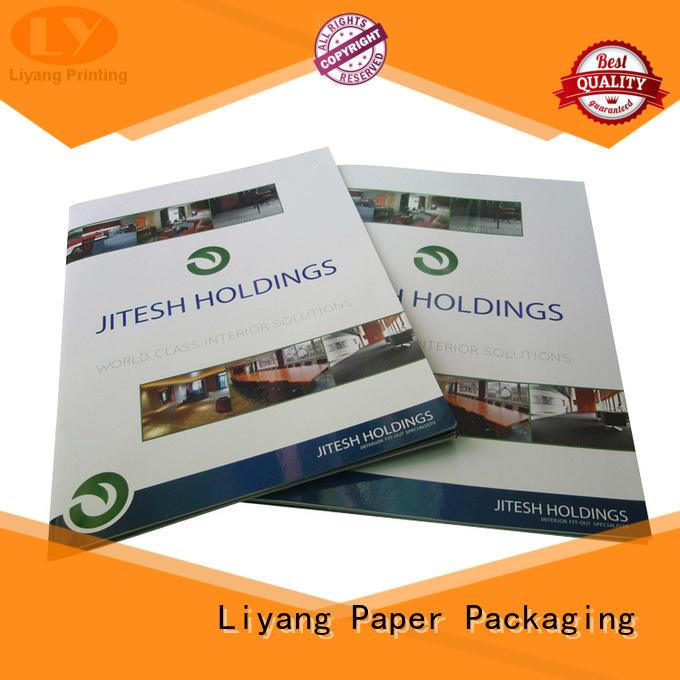 Liyang Paper Packaging folder presentation folders printing for wholesale for packing
