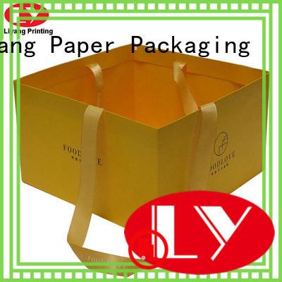 OEM paper gift bags ODM for cake Liyang Paper Packaging