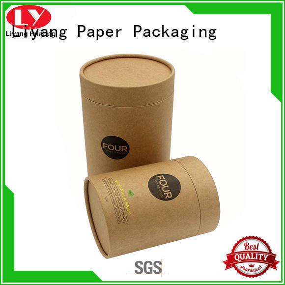 Recycled Kraft Paper Cardboard Round Box