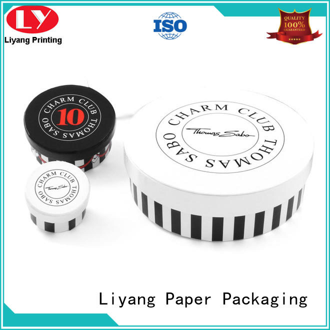 Liyang Paper Packaging high quality round gift box at discount for gift