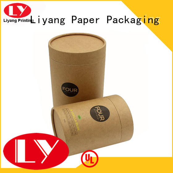 free sample cylinder packaging all sizes for christmas Liyang Paper Packaging