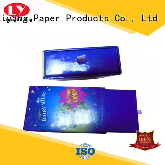 lid paper gift box fashion design for chocolate Liyang Paper Packaging