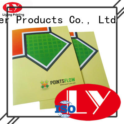 presentation business folder printing high quality for packing