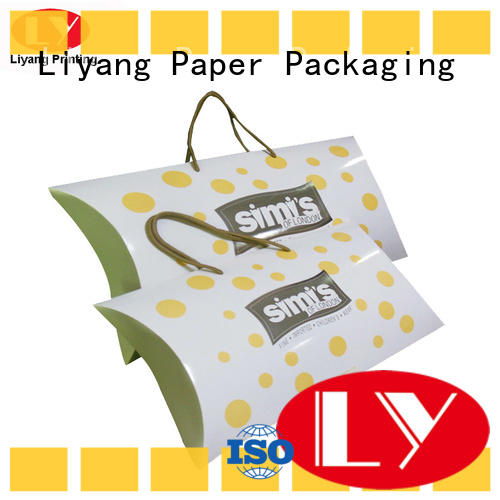 Liyang Paper Packaging clothing boxes odm for white ribbon