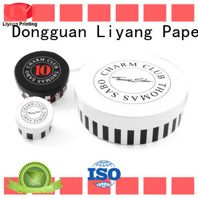 OEM round paper box all sizes for gift Liyang Paper Packaging