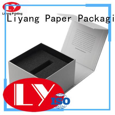 Liyang Paper Packaging magnetic custom cosmetic boxes board for makeup
