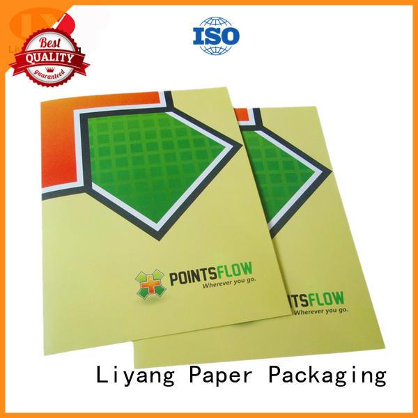 Liyang Paper Packaging Brand catalog pockets custom custom business card printing
