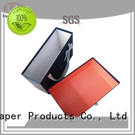 Liyang Paper Packaging printed clothing packaging manufacturers ODM for packaging