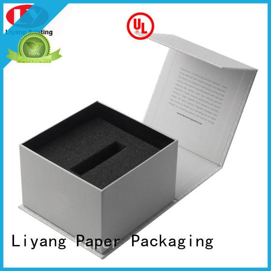 Liyang Paper Packaging handle custom cosmetic boxes free sample for brush